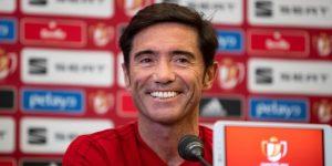 """Marcelino: """"A una temporada muy exitosa queremos ponerle el final con un título"""""""