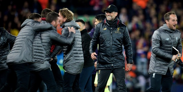 "La prensa gala destaca la ""Redmontada"" del Liverpool frente a un Barça febril"