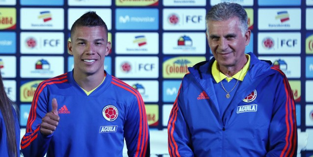 Colombia comienza la preparación de la Copa América con trece jugadores y sin James