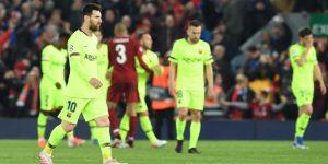 'Fracaso', 'ridículo' y 'sonrojo' del Barça en Anfield según la prensa deportiva