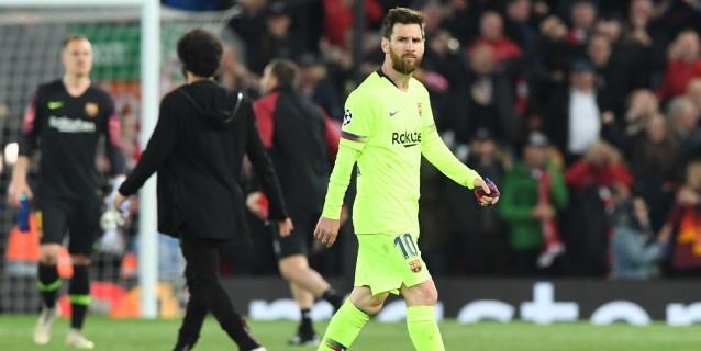 Silencio sepulcral en el Barcelona tras la hecatombe de Anfield