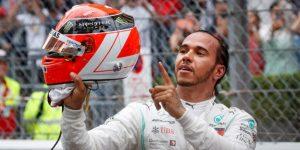 F1: Hamilton honra a su maestro