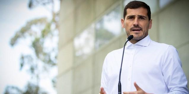"""Casillas: """"No sé qué será del futuro, lo más importante era estar aquí"""""""