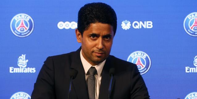 """El presidente del PSG, imputado por """"corrupción activa"""" en Francia"""