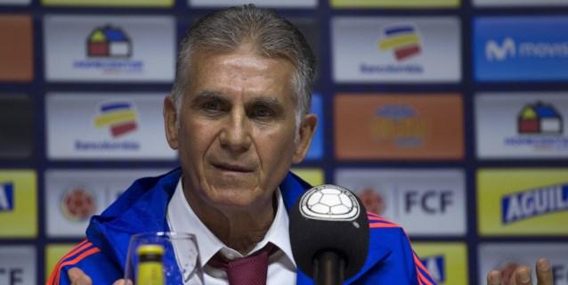 Queiroz valora el balance entre la experiencia y juventud en la preselección a la Copa América
