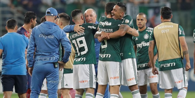 El Palmeiras de Scolari y el Santos de Sampaoli mandan en Brasil