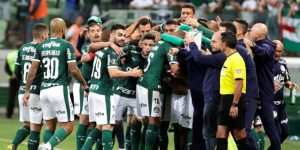 El Palmeiras de Scolari golea al Santos de Sampaoli y afianza su liderato