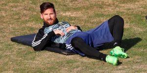 Argentina comienza los entrenamientos con once jugadores, pero sin Messi