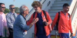 El Atlético de Madrid llega a Israel para enfrentarse en amistoso con Beitar