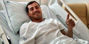 Casillas sale de la unidad de cuidados intensivos y evoluciona favorablemente