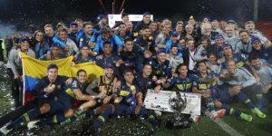 Boca quebró el maleficio y se quedó con la Supercopa Argentina