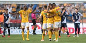 1-0. Tigres vence con apuros al Monterrey y se clasifica a la final en México
