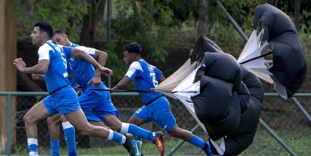Una Nicaragua motivada prepara su primer partido ante Argentina