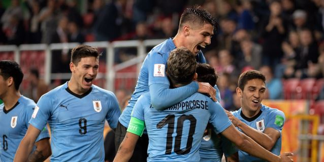 MUNDIAL SUB-20: Uruguay, Ucrania, Nueva Zelanda y Nigeria ganan con solvencia en su estreno