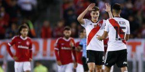 2-2. River Plate e Internacional terminan empatados en un partido vibrante