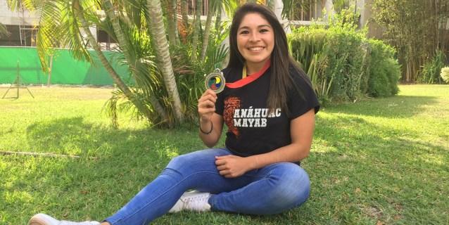 La mexicana Quintal tiene como meta el oro en kárate en Panamericanos de Lima
