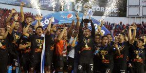 El Águila se corona campeón del fútbol de El Salvador en los penaltis