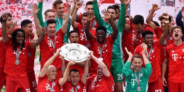 El Bayern firma con una goleada su séptima Bundesliga consecutiva