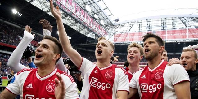 El Ajax, virtual campeón de Liga