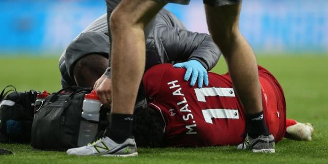 """Klopp tranquiliza sobre Salah: """"Vio el partido en el vestuario; está bien"""""""