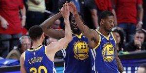 NBA: 117-119. Curry y Green ponen a los Warriors en las Finales con barrida a los Trail Blazers