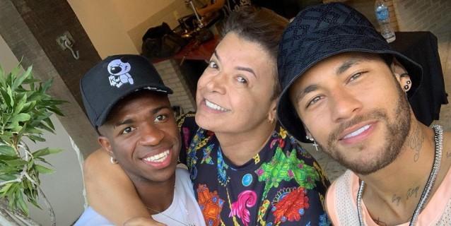 Neymar se encuentra con Vinicius Junior en su día libre en Brasil
