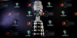 El trofeo de la Copa América empieza en Bogotá una gira por cinco países