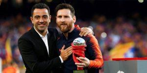 """Messi a Xavi: """"Te extrañamos desde el primer día que decidiste salir"""""""