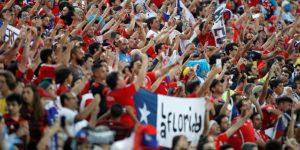 El promedio de espectadores en Brasil 2019 aumentó 35 % frente a Chile 2015