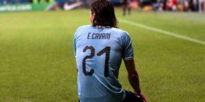 Cavani, Suárez, Zapata y Machís se despiden de la fiesta como goleadores