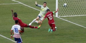 2-2. Catar asesta la primera sorpresa al sacar un empate a un Paraguay que deprime