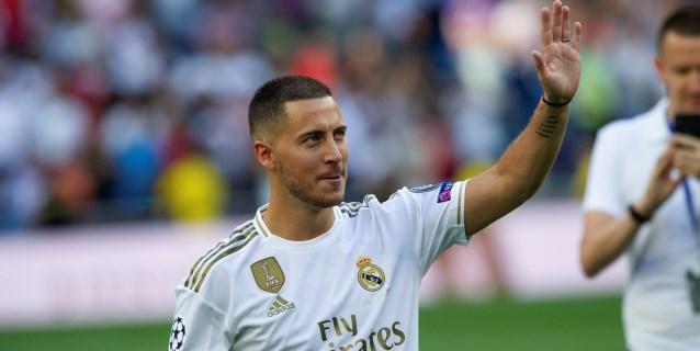 """Hazard: """"Venir al Real Madrid era mi sueño desde pequeño"""""""