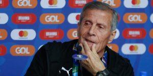"""Tabárez: """"No sentimos el peso de 15 Copas América, sentimos el impulso"""""""