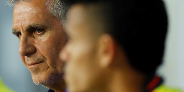 """Queiroz: """"Es un partido de campeonato y como en el tenis es un match point"""""""