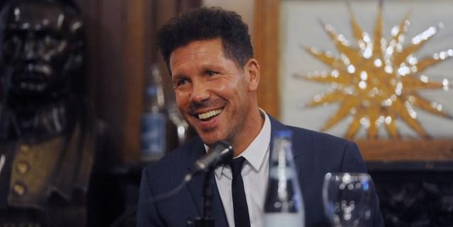 """Simeone: """"El fútbol argentino siempre tiene futbolistas para competir bien"""""""