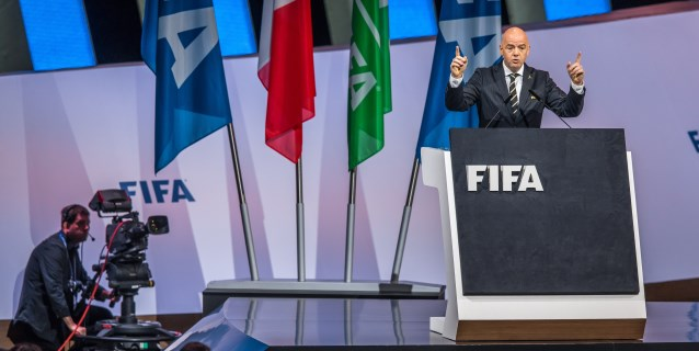 La FIFA renueva el mandato de Gianni Infantino como presidente