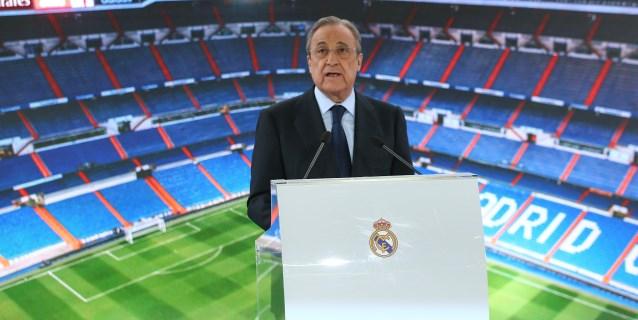 "Florentino Pérez: ""Viene un jugador maravilloso, de esos que son distintos"""