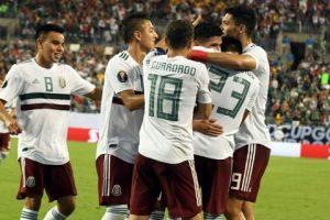2-3. México hizo lo justo para golear, ganar y pasar invicto a cuartos