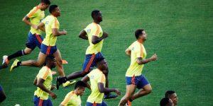 Colombia entrena con todo su plantel en Sao Paulo a la espera de Chile