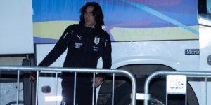 Uruguay llega a Salvador, escenario de su duelo de cuartos ante Perú