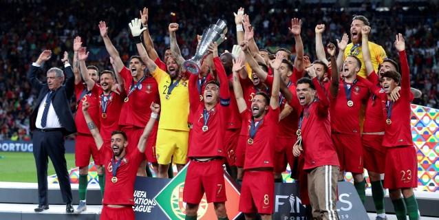 1-0. Portugal, campeón de la Liga de Naciones sin recurrir a Ronaldo