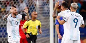 1-1. Argentina sobrevive en el Mineirao y empata con Paraguay gracias a Messi