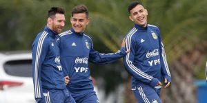 Argentina sigue con su puesta a punto para la Copa América en medio de la calma