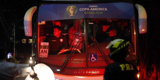 Perú quedó instalada en Salvador para enfrentarse con Uruguay