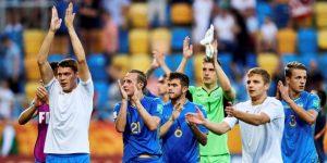 1-0. Lunin lleva a una sólida Ucrania a su primera final