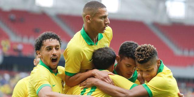 7-0. Brasil ya se las arregla sin Neymar y propina la máxima goleada en la era Tite