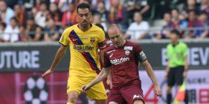 0-2. Carles Pérez da el triunfo al Barça en el reencuentro con Iniesta