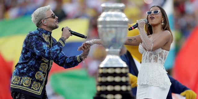 La brasileña Anitta y el puertorriqueño Pedro Capó animaron la ceremonia de clausura