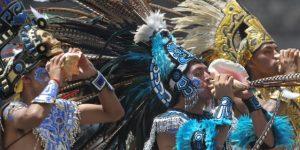 El fuego de los Panamericanos fue creado en las Pirámides de Teotihuacan