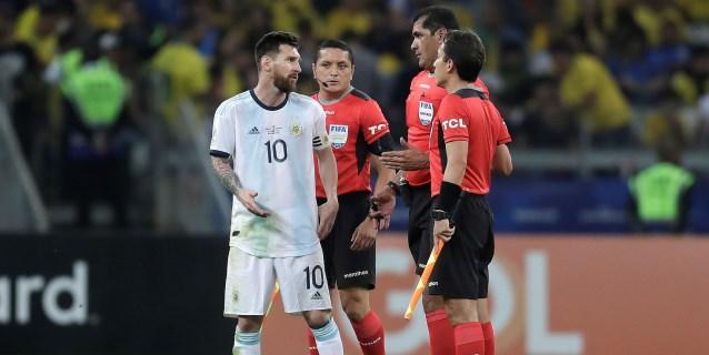 """Messi, muy crítico con el arbitraje: """"Brasil maneja mucho en la Conmebol"""""""